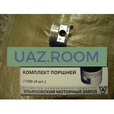 Поршень 100,0 мм (1 ШТУКА) дв. УМЗ 4213 УАЗ 452, Хантер, 4216 ГАЗель Евро-3