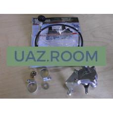 Кран  отопителя  УАЗ 452 дв.4213, 4091 ИНЖЕКТОР (установочный комплект С ТРОСОМ) D20