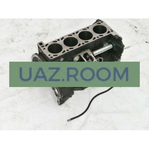 Блок  двигателя ЗМЗ-514 с трубкой указателя уровня масла (Евро-3) ##