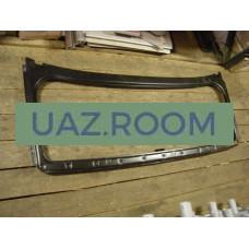 Рамка  ветрового стекла под тент  УАЗ 31512, 469 (БЕЗ стекла)