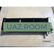 Радиатор  отопителя  УАЗ 452 (трубки 20мм) МЕДНЫЙ ТРЕХрядный (ШААЗ)