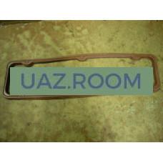 Прокладка  клапанной крышки (коромысел)  УАЗ, ГАЗ дв.402 КРАСНАЯ (резина) **