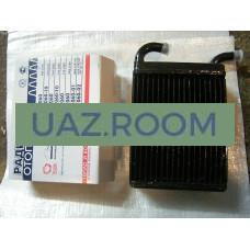 Радиатор  отопителя  УАЗ 3160, 3162, Патриот 2005-2007 (трубки 20 мм) МЕДНЫЙ ТРЕХрядный (ШААЗ)