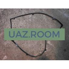 Прокладка  клапанной крышки (коромысел)  УАЗ дв.40904, ГАЗ дв.40524, 40525 ЕВРО-3, резина **