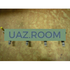 Топливопровод  УАЗ дв.ЗМЗ-40904 Евро-3 с форсунками В СБОРЕ