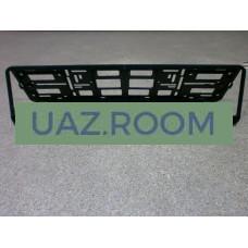 Рамка  номерного знака  УАЗ / BAZASHOP ('книжка')