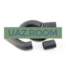 Патрубки  радиатора  УАЗ 452, 469 дв.4218 (к-кт из 5-ти шт.) резина (ЗАВОД: СРТ