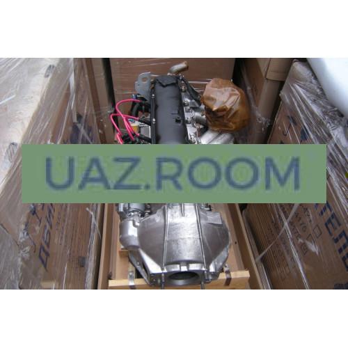 Двигатель  УМЗ-4218 АИ-92 УАЗ 452, 469, карбюратор, с рычажным сцеплением (89 л.с.) в сборе
