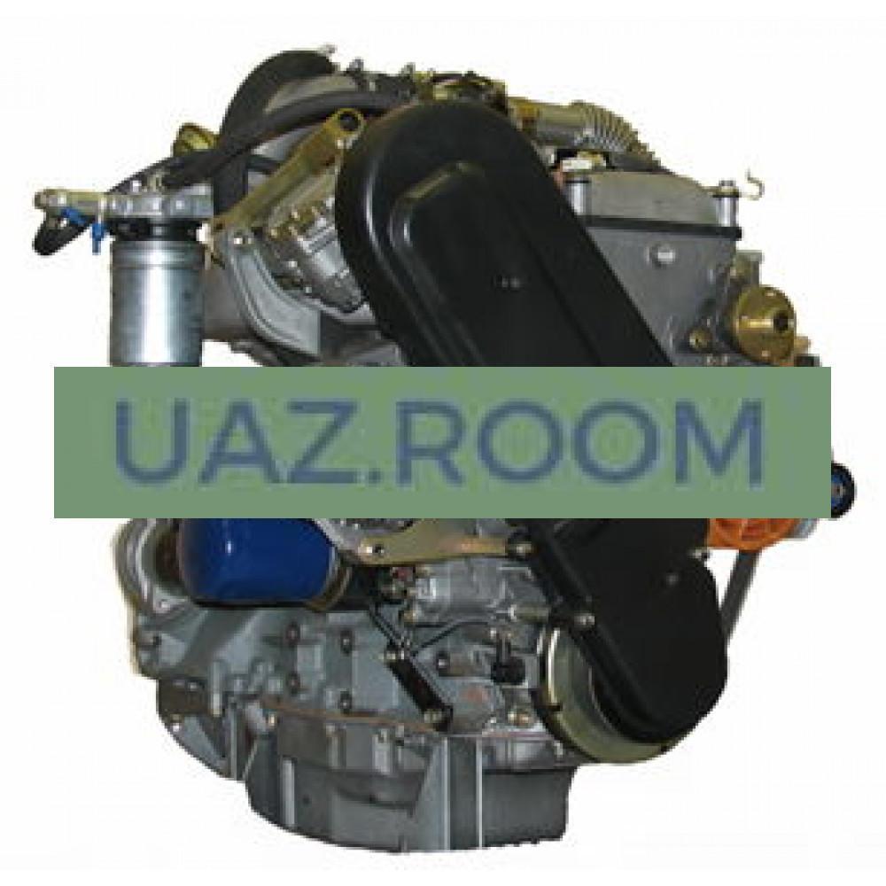 Двигатель  ЗМЗ-5143.10 ДИЗЕЛЬ УАЗ Хантер, Евро-3 (с ГУР, охладителем, вакуум. насосом на блоке) ##