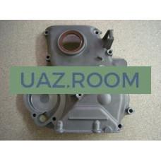 Крышка  цепи дв.40904 УАЗ (с кондиционером) Евро-3, 40905 Евро-4 с сальником