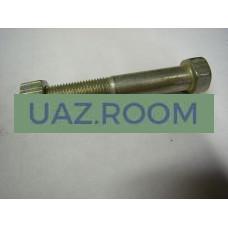 Болт  М12х1,25х70 крепления  амортизатора  УАЗ нижний, С ГАЙКОЙ