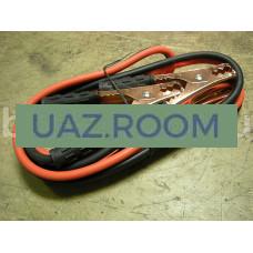 Стартовые провода (провода для прикуривания) 300А (резина) 2,5 метра