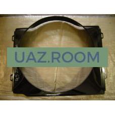 Диффузор  (кожух вентилятора)  УАЗ 452 (дв.4091, под радиатор 31608-1301010)