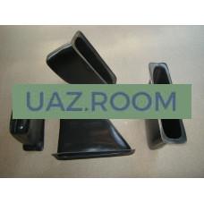 Карман обивки двери  УАЗ 31519 (вкладыш) АБС-Пластик (КОМПЛЕКТ 4 шт.)#