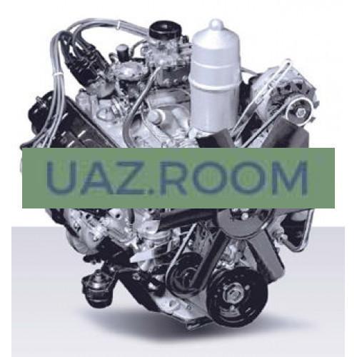 Двигатель  ЗМЗ-511 ГАЗ-3307,-53 (4-ст.КПП) Евро-0, 125 л.с., 4,25л, 8-цил. V-обр.