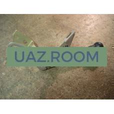 Привод  управления вентиляцией передка  УАЗ 469, Хантер в сборе