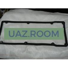 Прокладка  клапанной крышки (коромысел)  УАЗ дв.409, ГАЗ дв.405, 406 (резина) (ЗМЗ)