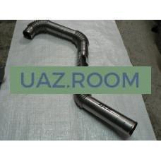 Труба  отводящая  УАЗ Патриот (воздуховод дв.IVECO) от охладителя (интеркулера)
