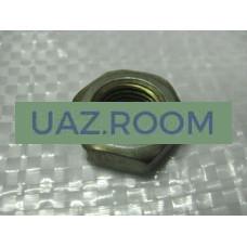 Гайка  М12х1,25, h =  6, под ключ 19 (пальца амортизатора  УАЗ)