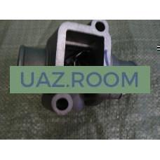 Корпус  термостата  дв.409 УАЗ в сборе с термостатом (ЗМЗ) ##