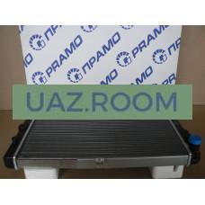 Радиатор  охлаждения ВАЗ 2108-21099, 2113-2115 с карб. и инж. двиг. ПРАМО