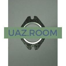 Прокладка  приемной  трубы (фланца, к коллектору) УАЗ (металло-асбест.)