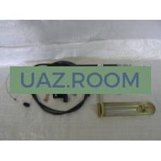 Педаль  газа  УАЗ 452 инжектор (дв. 4213) КОМПЛЕКТ (с тросом)
