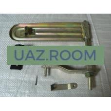 Педаль  газа  УАЗ 452 инжектор (дв. 4213, 4091) КОМПЛЕКТ (БЕЗ троса)