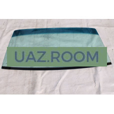 стекло  УАЗ Патриот, 3162, 3160 лобовое С ПОЛОСОЙ, тонированное зеленое (ЗПТЗ)