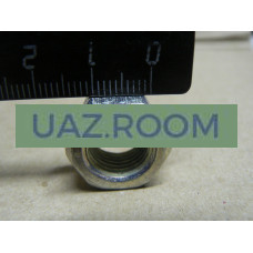 Гайка  М12х1,25, h = 10, под ключ 17 (головки блока дв.УМЗ-417,-421, ЗМЗ-402 УАЗ, ГАЗ)