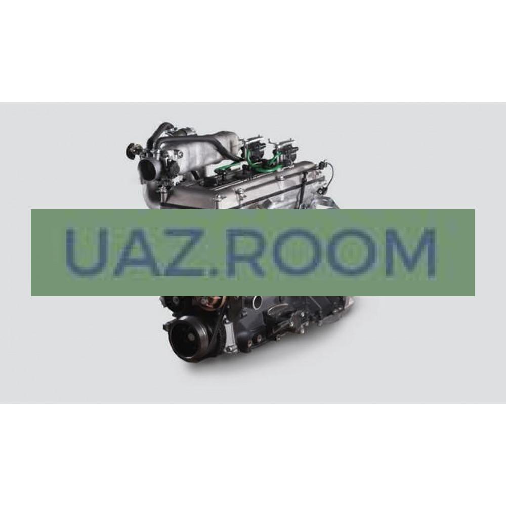 Двигатель  ЗМЗ-409 АИ-92 УАЗ Хантер, Патриот, Евро-2 (ПОД ГУР, НЕЙТРАЛИЗАТОР, МИКАС 7.2; 143 л.с.)