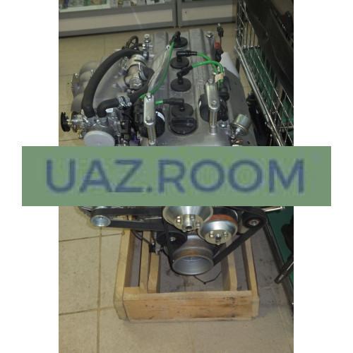 Двигатель  ЗМЗ-4091 АИ-92 УАЗ 452, Евро-3 (МИКАС 11, генератор 80А) ##