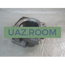 Корпус  термостата  дв.409 УАЗ (без термостата) (ЗМЗ)