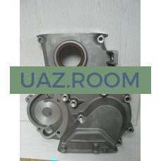 Крышка  цепи дв.409 УАЗ Патриот Евро-2 (с кондиционером) с сальником в сб.
