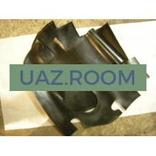 Коврик  передний УАЗ 452 к-кт 2 шт. резиновый