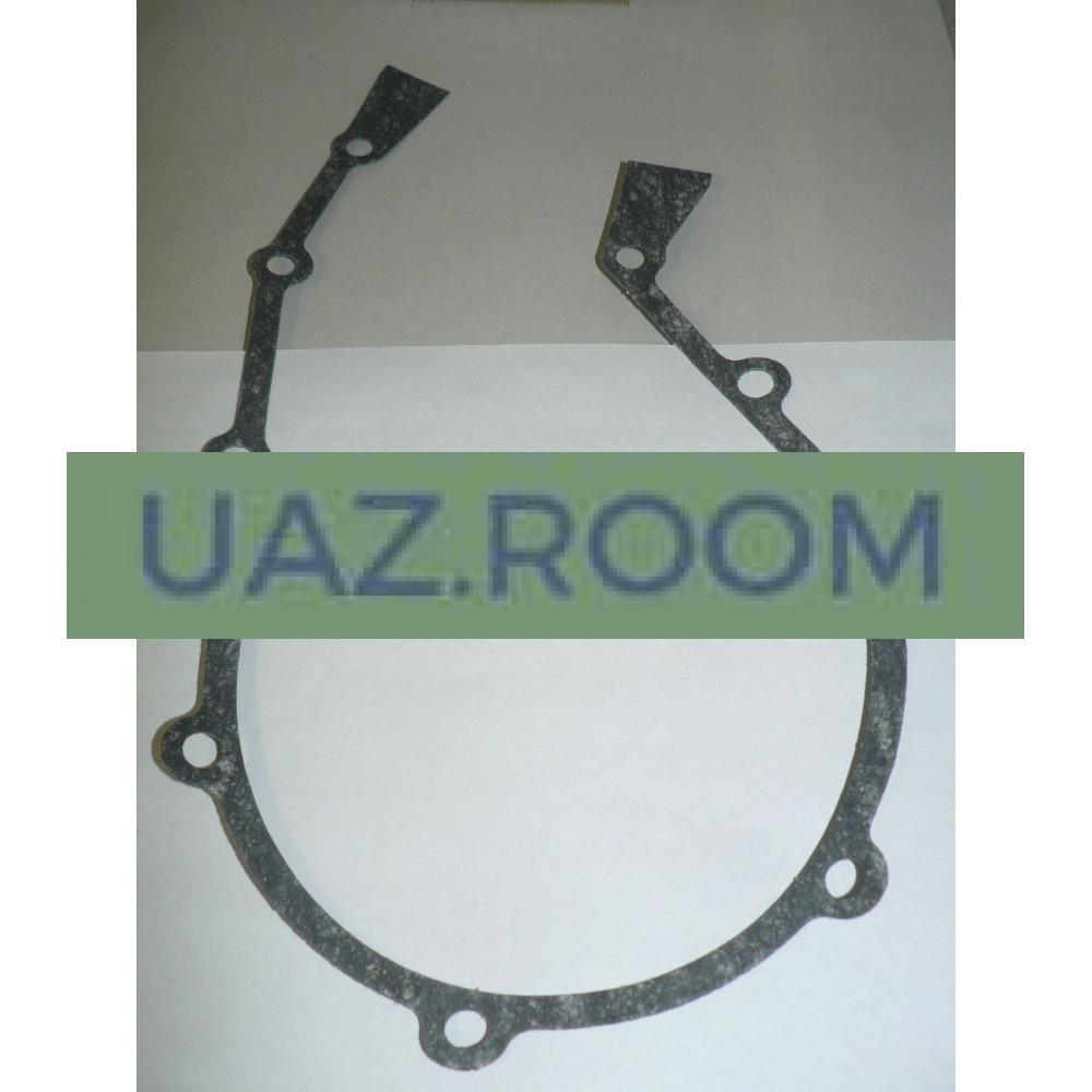 Прокладка  передней крышки блока цилиндров ГАЗ, УАЗ дв.402 (ВАТИ) **