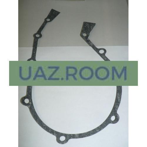 Прокладка  передней крышки блока цилиндров ГАЗ, УАЗ дв.402 (ВАТИ)