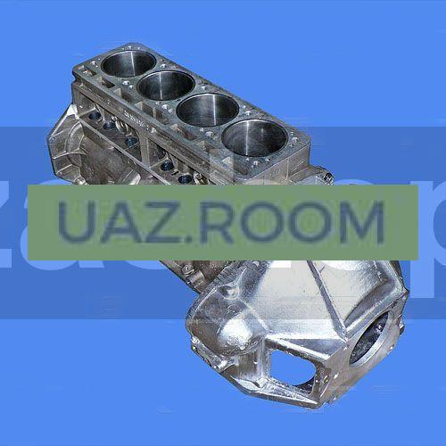 Блок  двигателя УМЗ-4215 ГАЗЕЛЬ под сальник ##
