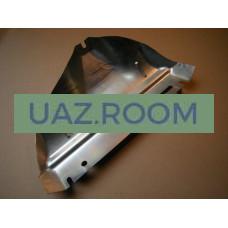 Экран  выпускного коллектора дв.40904 УАЗ, 40524, 40522, 406 (с 11.2008) ГАЗ Евро-3 (ЗМЗ)