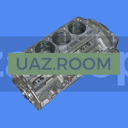 Блок  двигателя УМЗ-4218,-421-30 УАЗ под сальник ##
