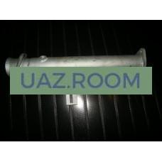 Труба  вставка  вместо катализатора ГАЗЕЛЬ дв. ЗМЗ-40524 с отверстием под датчик ЕВРО-3