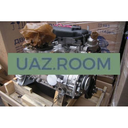 Двигатель  УМЗ-4218 АИ-92 УАЗ 452, 469, Хантер, карбюратор, с лепестковым сцеплением (89 л.с.) в сб.