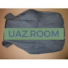 Обивка  спинки сиденья водителя  УАЗ Патриот (ткань)