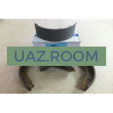 Колодка  тормозная задняя ГАЗель 3302, Соболь 2217 (к-кт 4 шт.) 'FINWHALE' 140*70 мм