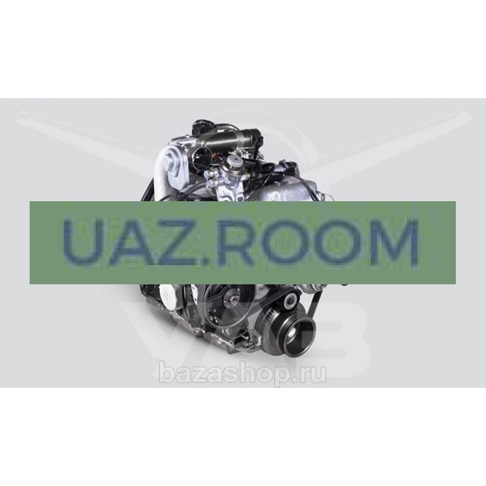 Двигатель  ЗМЗ-51432.10 ДИЗЕЛЬ УАЗ Хантер, Евро-4 (с мая 2012; с насосом ГУР; генератор 80А) ##