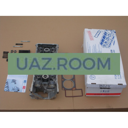 Головка  блока в сб.  УАЗ 409, ГАЗ 4052, 40522 дв. (Евро-2