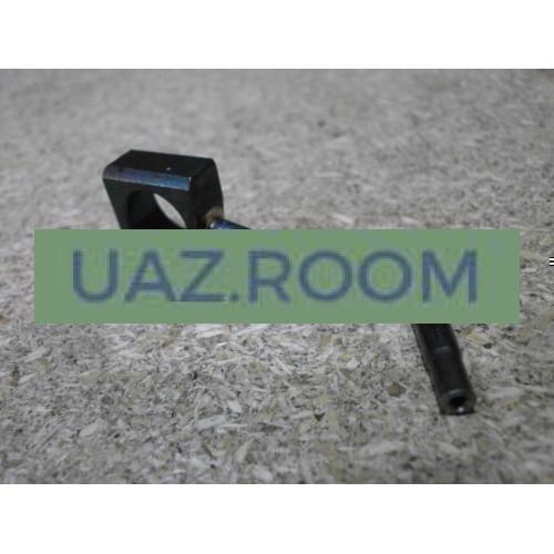 Корпус  форсунки охлаждения поршня да.ЗМЗ-51432 (Евро-4, с 05.2012) с трубкой