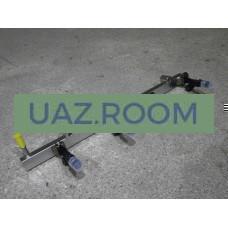 Топливопровод  УАЗ дв.ЗМЗ-40905 ЕВРО-4 (с 05.2012) с форсунками В СБОРЕ (рампа)