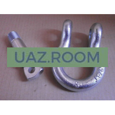 Шакл  для крепления буксирного троса и блоков лебёдки (серьга) 20 мм (3/4') 'ComeUp'