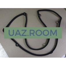 Прокладка  клапанной крышки (коромысел)  УАЗ дв.51432 Евро-4 (резина) ЗМЗ